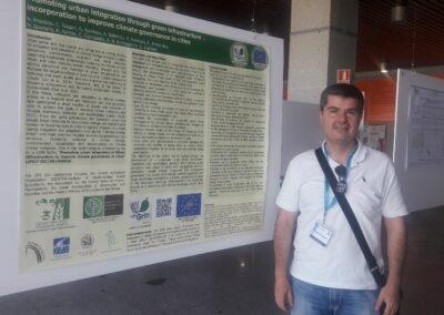Δρ. Ν. Προύτσος παρουσιάζει την εργασία Promoting urban integration through green infrastructure incorporation to improve climate governance in cities