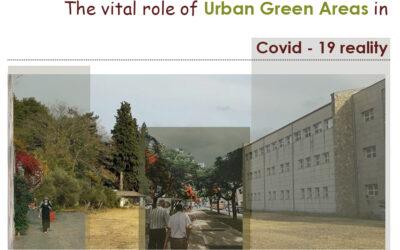 Ο ρόλος των χώρων αστικού πρασίνου κατά την περίοδο της πανδημίας Covid-19