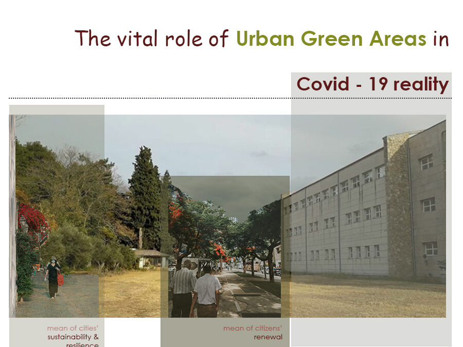 The role of Urban Green Areas in the era of Covid-19