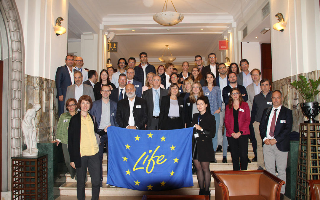 Attendance to the LIFE17 Climate Change kick-off meeting in Brussels