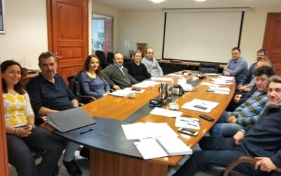 Work Meeting in the Municipality of Amaroussion