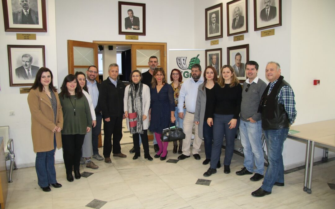 Report on the 1st Info Day in the Municipality of Amaroussion