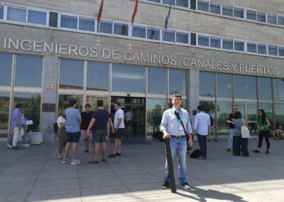 Dr. N. Proutsos in the Technical University of Madrid